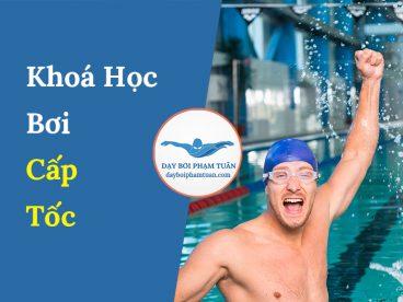 Khoá học bơi cấp tốc