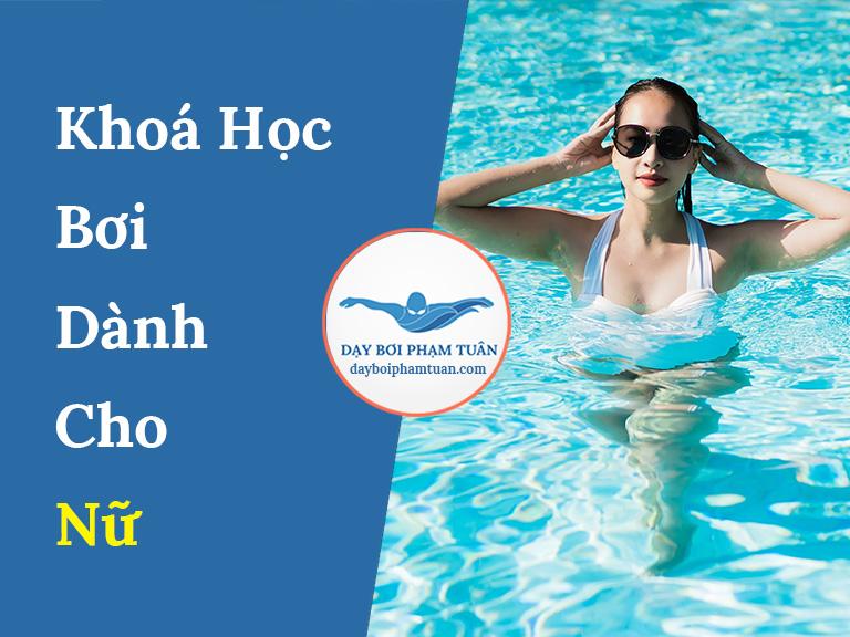 Khoá học bơi dành cho nữ