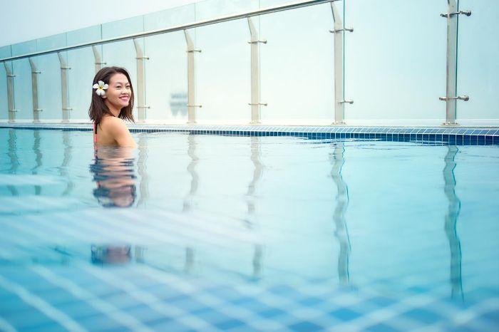 Khóa học bơi chất lượng tại hồ bơi khách sạn Tân Sơn Nhất